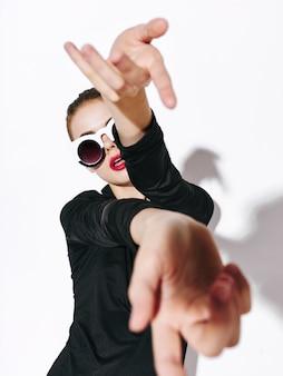 Nicht-standard-modekörperlinien für frauen, ungewöhnliche brillen