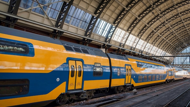 Niederländische züge in amsterdam central station