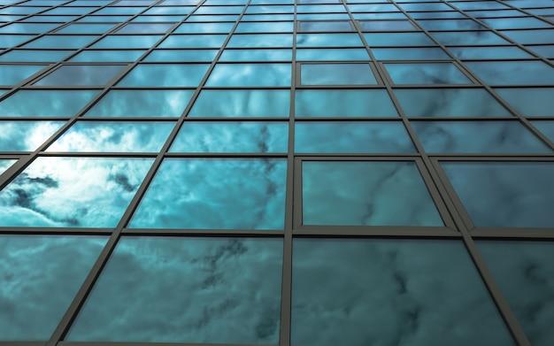 Niedrige winkel ansicht der wolkenkratzer