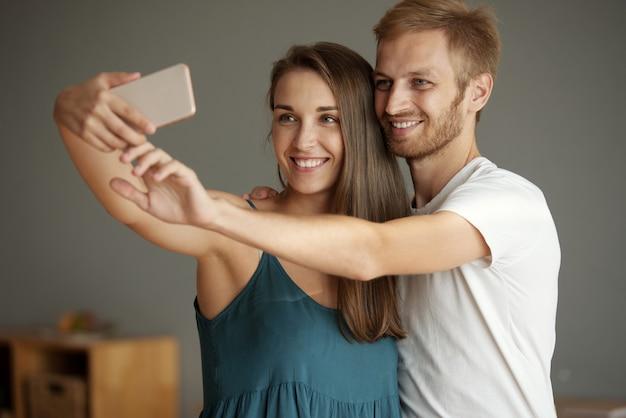 Noch ein selfie zusammen