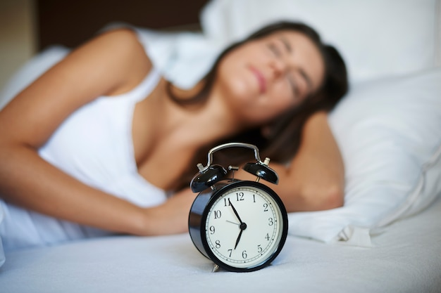 Noch nur fünf minuten schlaf