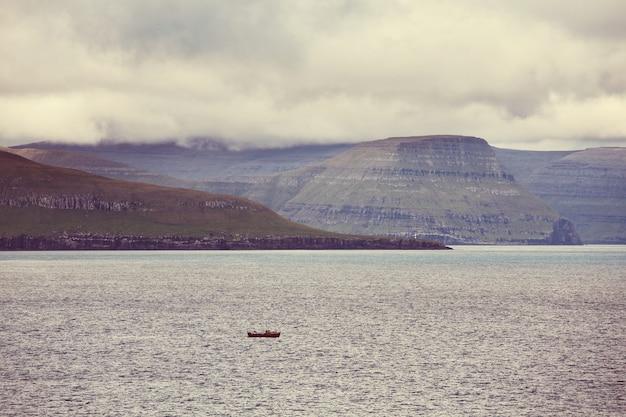 Nördliche landschaft der färöer-inseln