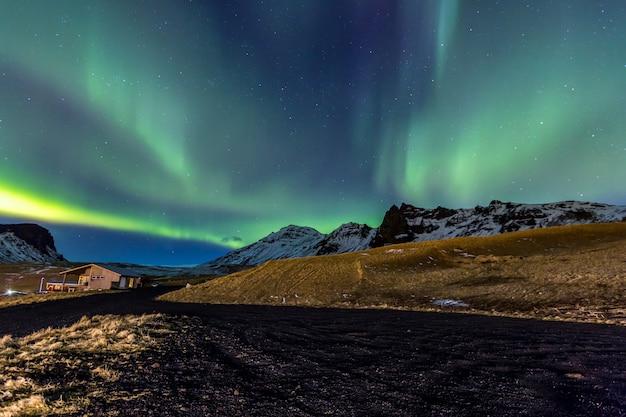 Nordlicht aurora island