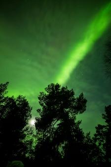Nordlichter im inari-see
