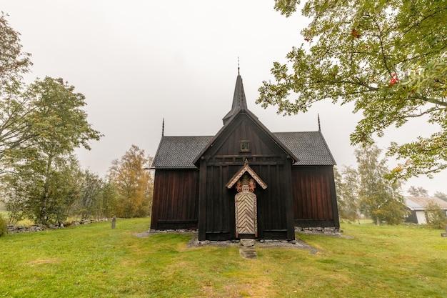 Nore stabkirche historische holzkirche in nore norwegen