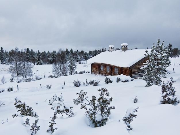 Norwegen winter lanscape schnee