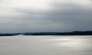 Norwegischen küste, wasser