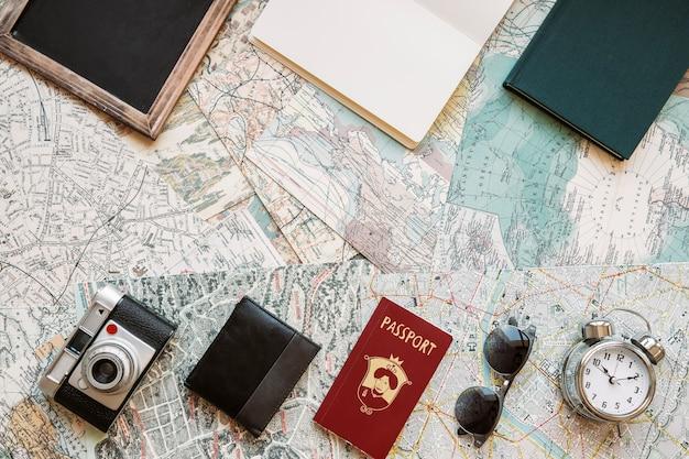 Notizblöcke und tourismusartikel