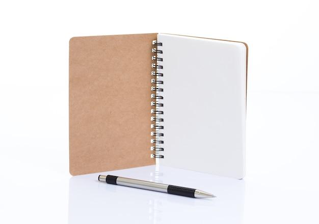 Notizbuch aus recyclingpapier