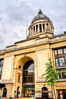 Nottingham city council building in england, uk