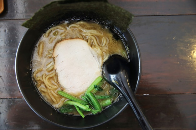Nudel ranmen japanisches essen