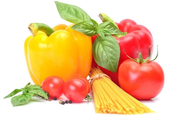 Nudeln und gemüse