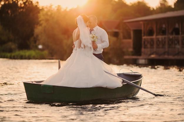 Nur in einem boot verheiratet