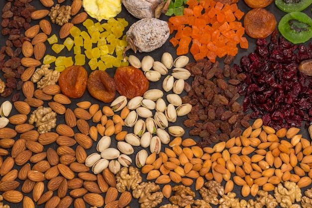 Nutritious energy snack kandierte früchte