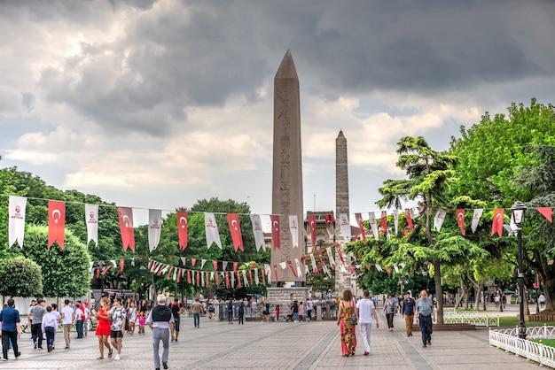 Obelisk von theodosius in istanbul, türkei