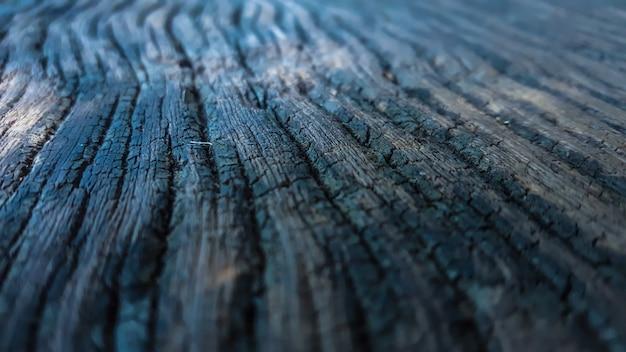 Oberfläche des holzes dunklen farben und alt