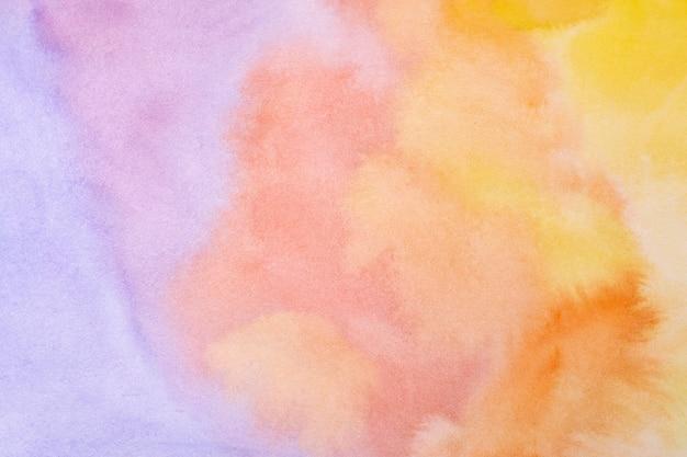 Oberfläche mit ausdrucksstarker aquarellfarbe