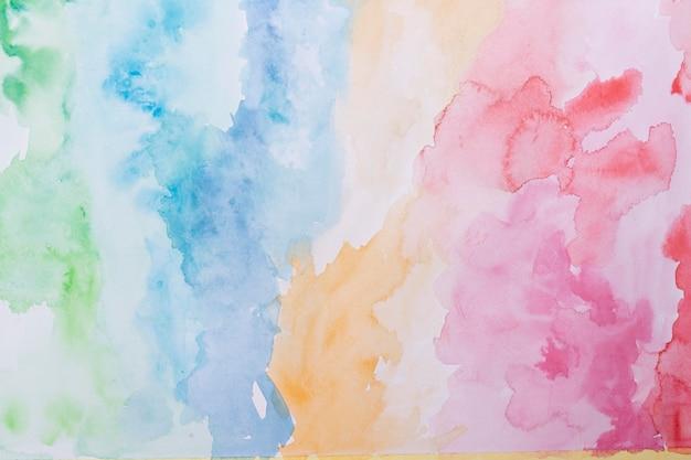 Oberfläche mit künstlerischem aquarell