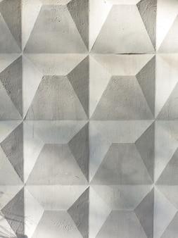Oberfläche, textur, alte betonmauer, zaun, grau mit quadraten in form von rauten