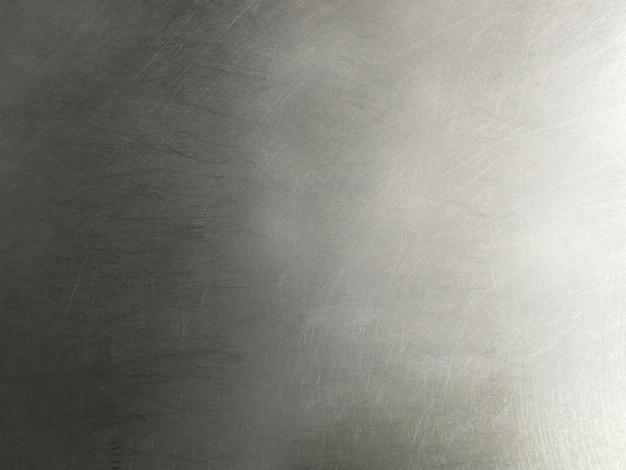 Oberflächenverschmutzter alter edelstahl