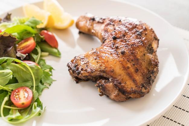 Oberschenkel hühnchen steak