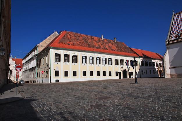Oberstadt, gornji grad in zagreb, kroatien, balkan