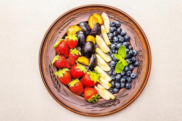 Obst platte
