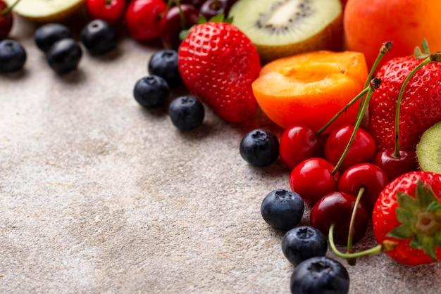 Obst und beeren sommer