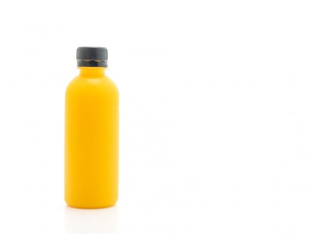 Obst- und gemüsesaftflasche (gesundes getränk)