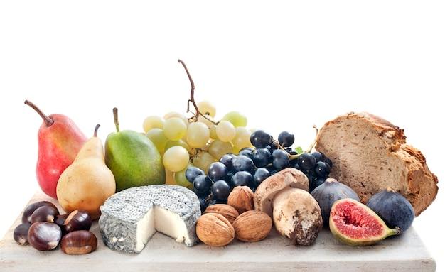 Obst und käse