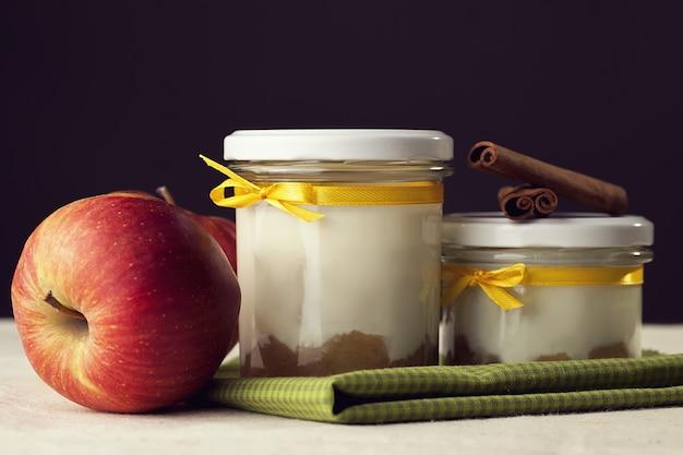 Obst und milch