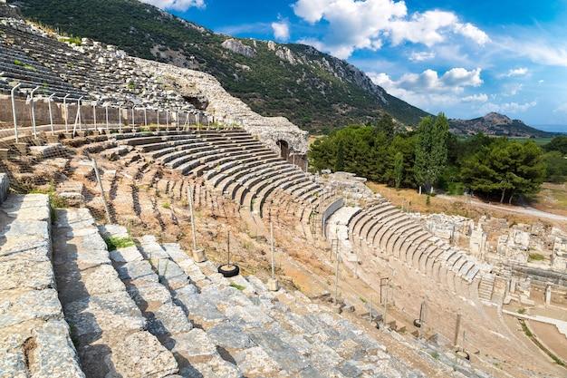 Odeon - kleines theater in der antiken stadt ephesus, türkei