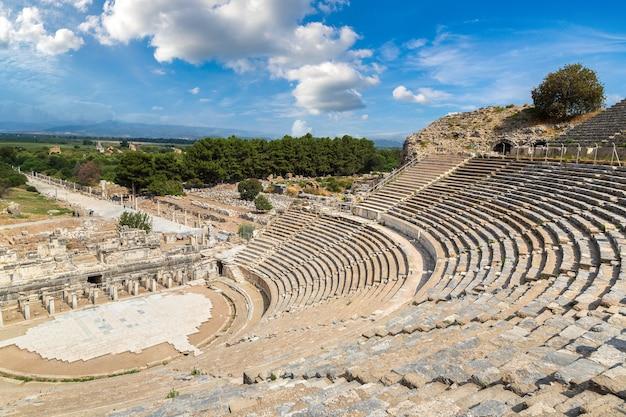 Odeon - kleines theater in der antiken stadt ephesus