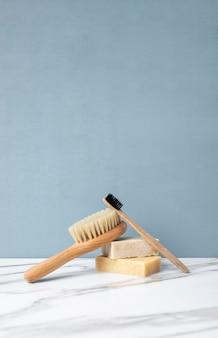Öko-reinigungsprodukte für die hautpflege