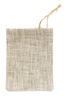 Öko-sackbeutel aus natürlicher baumwolle, hergestellt aus leinen, modell