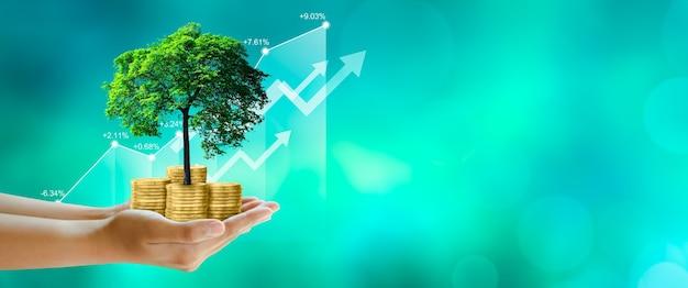 Ökologie sparen csr grüne geschäftsethik gute regierungsführung investitionsideen und geschäftswachstum