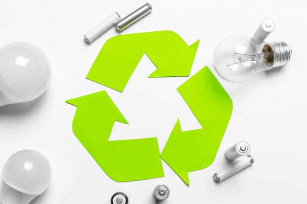 Ökologische energiequelle, grüne energie