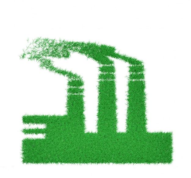 Ökologische illustration der konzeptkunst 3d