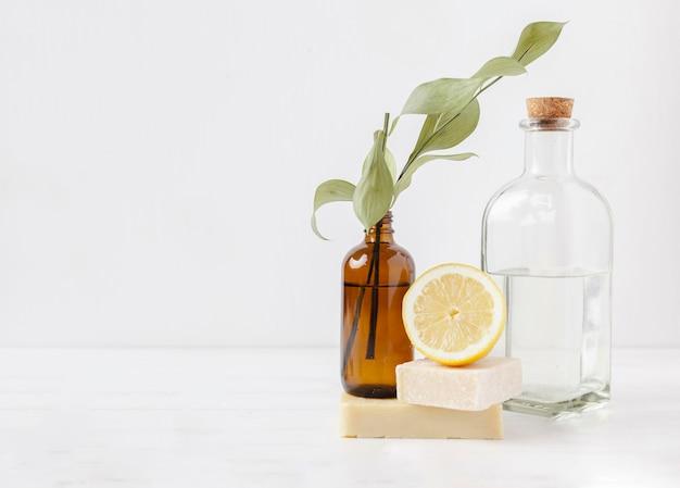 Ökologisches produktkonzept mit kopierraum