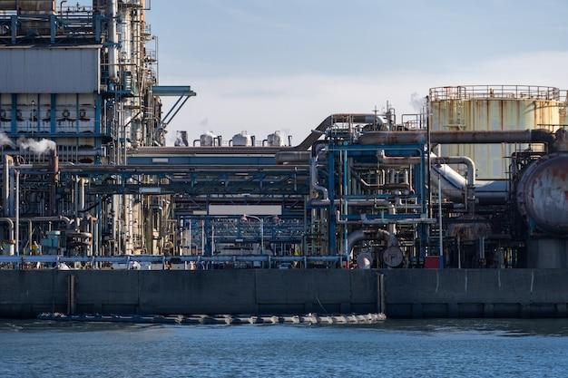Öl petrochemische fabrik