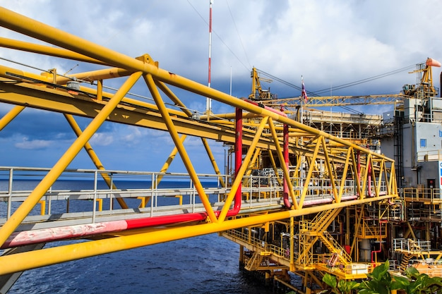 Öl- und gasproduktion der offshore-industrie erdölpipeline