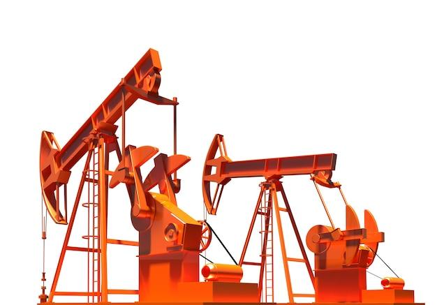 Ölbohrturm energie industriebrennstofffabrik modernes ingenieurobjekt ölfeld entwicklung