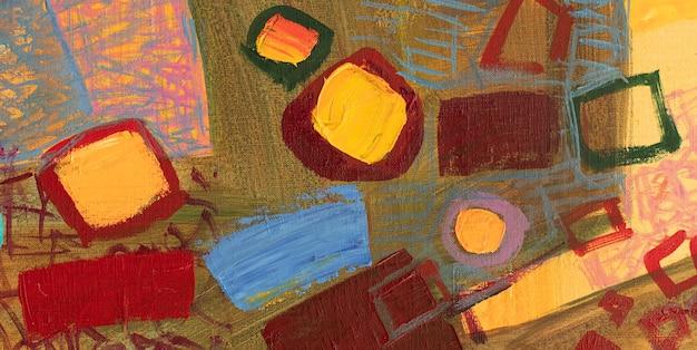 Ölgemälde abstrakte nahaufnahme des gemäldes bunte abstrakte malerei hintergrund