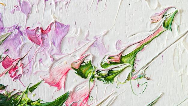 Ölgemälde auf leinwand abstrakte kunst hintergrundfragment von modernen kunstwerken pinselstriche von farbe
