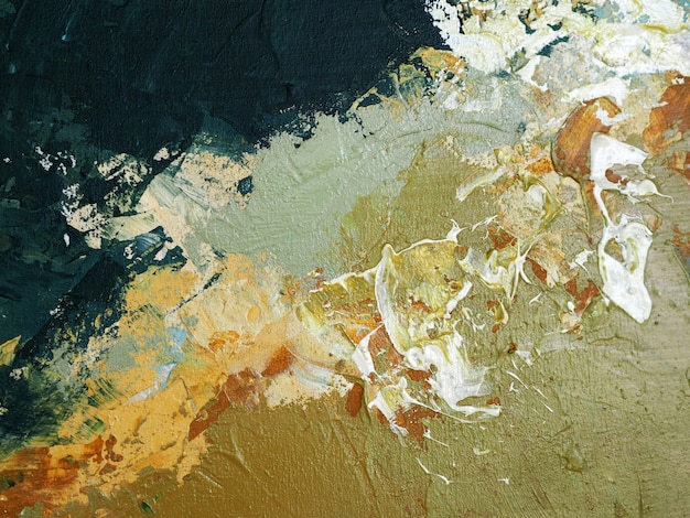 Ölgemälde des handabgehobenen betrages beige farbbürstenanschlag-beschaffenheits-zusammenfassungshintergrund auf segeltuch.