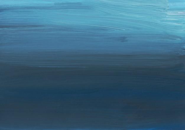 Ölgemälde des hintergrunds der abstrakten kunst, dunkelblaue textur