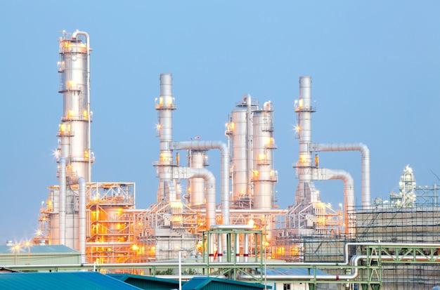 Ölraffinerieanlage