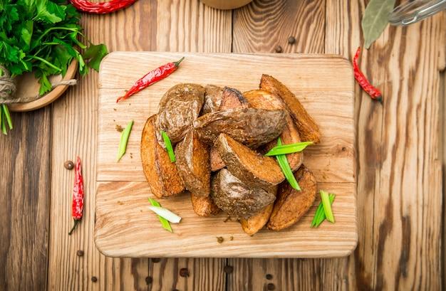 Ofenkartoffel mit rosmarin