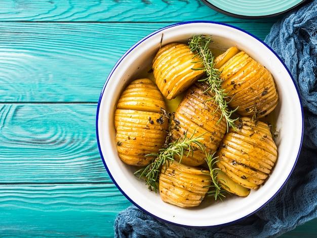 Ofenkartoffeln mit kräutern gekocht