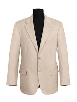 Off white corporate coat auf schwarzer schaufensterpuppe